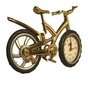 ساعت رومیزی دکوری مدل دوچرخه